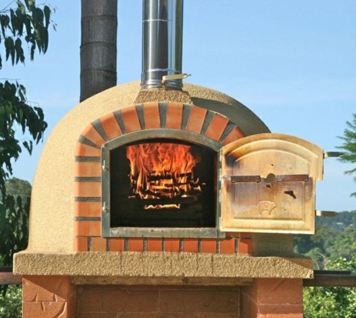 four à pizza que tout le monde peut fabriquer soi-même bricolage