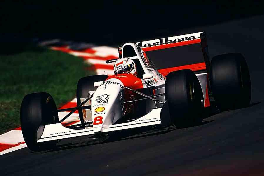 Martin Brundle McLaren MP4/9