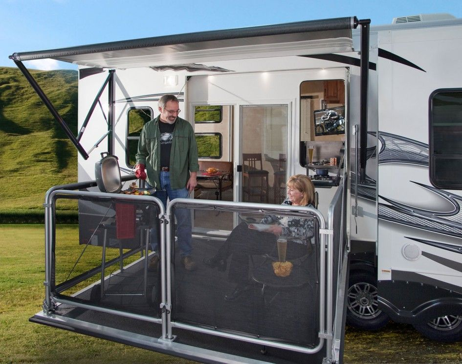 Inimitable Fifth Wheel Toy Hauler With Outside Kitchen And
