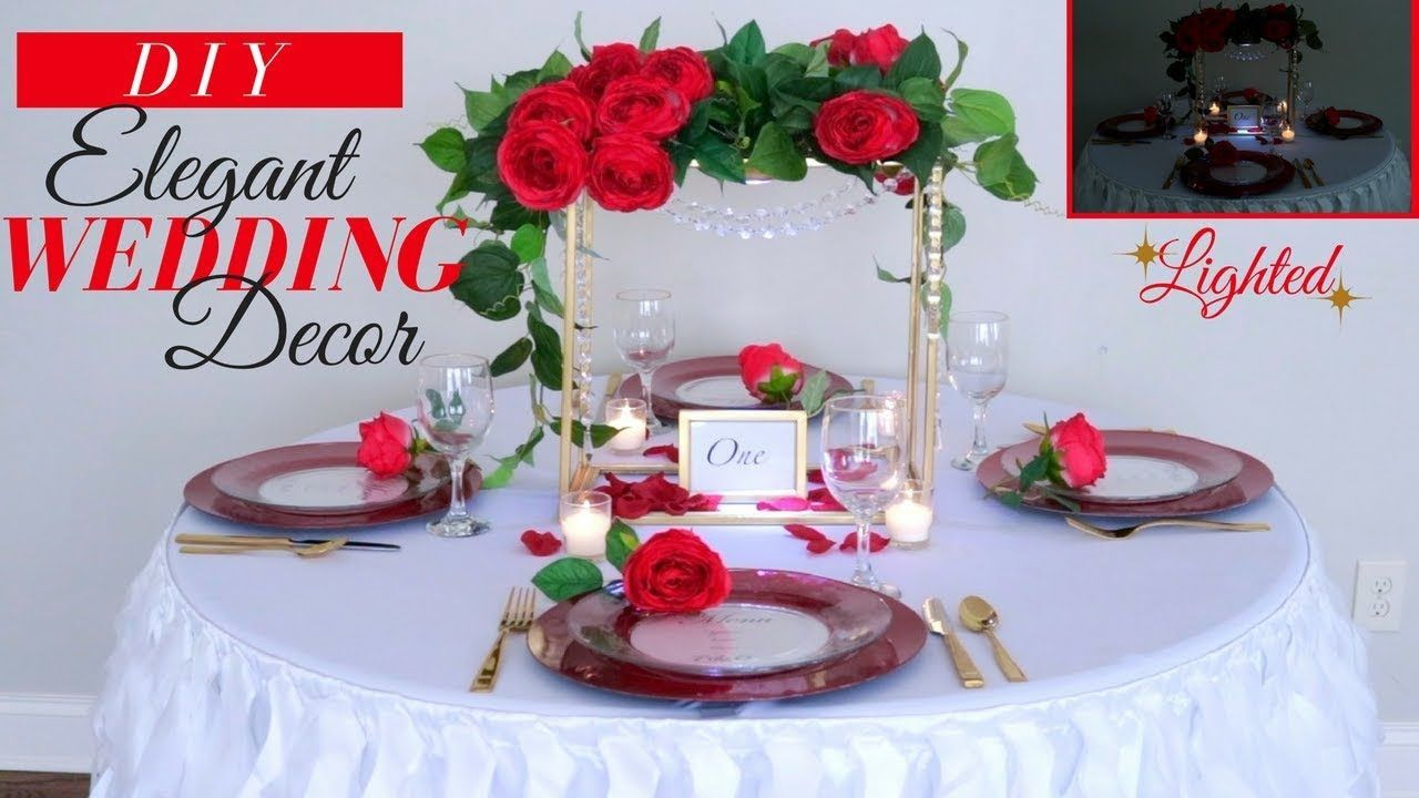 Diy wedding decorations elegant wedding reception decorations diy wedding decorations elegant wedding reception decorations youtube junglespirit Gallery