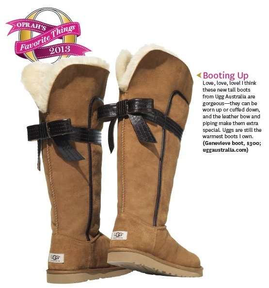 47e02f098ec UGG Genevieve boots made Oprah s Favorite Things 2013 List! Guess who s got  them   UGG  Oprah  boots