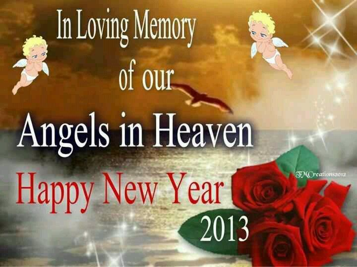 happy new year mom miss u n love u new years eve was my mom day she always had a party n made so much food miss them days