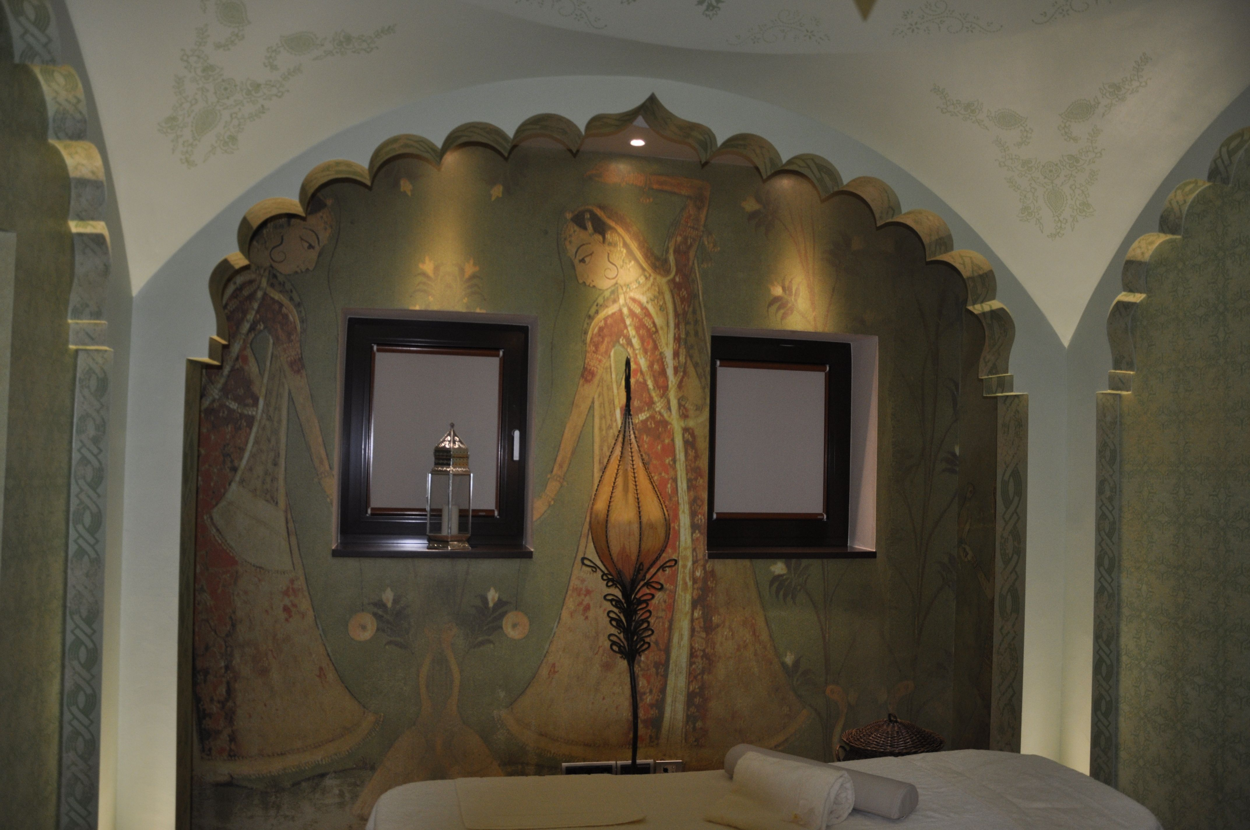 Location: Sieben Welten Therme & Spa Resort | Künzell/Germany. Deco vlies. Digital print and hand finished.