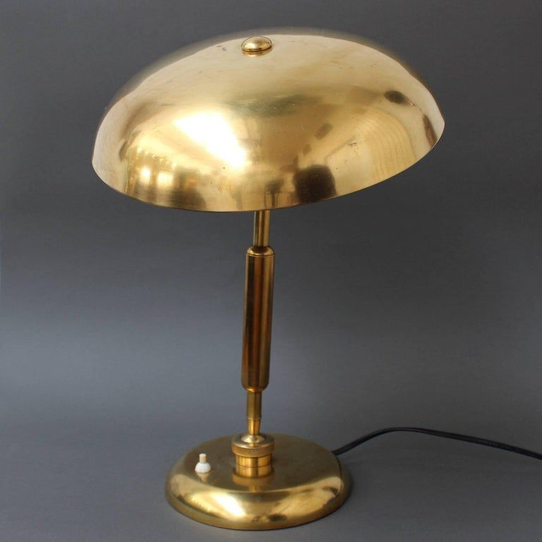 Italian Brass Desk Lamp By Lariolux Circa 1940s 4 Brass Desk Lamp Scandinavian Desk Lamp Lamp