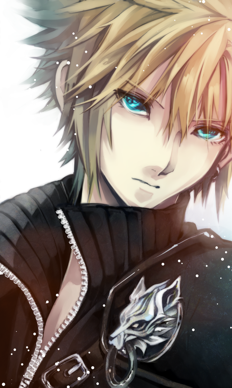 cloud strife cool anime