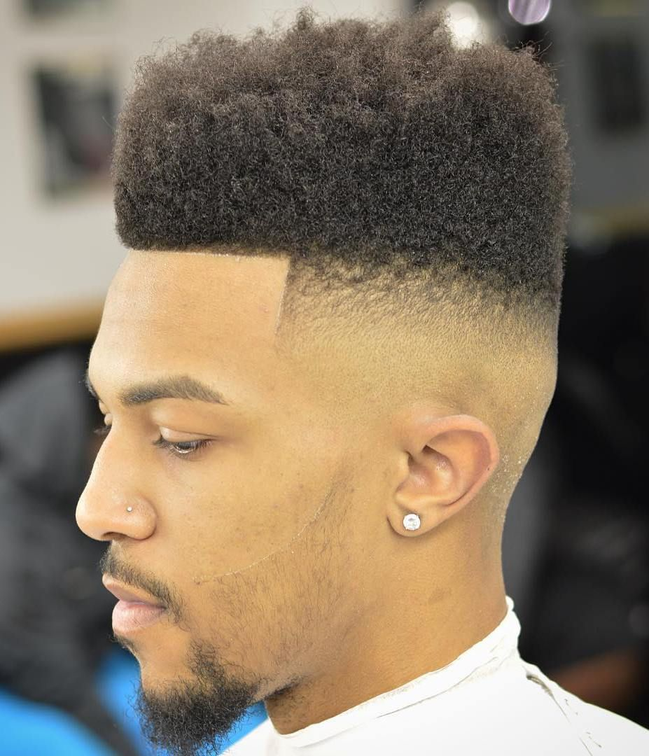 40 Devilishly Handsome Haircuts For Black Men High Top
