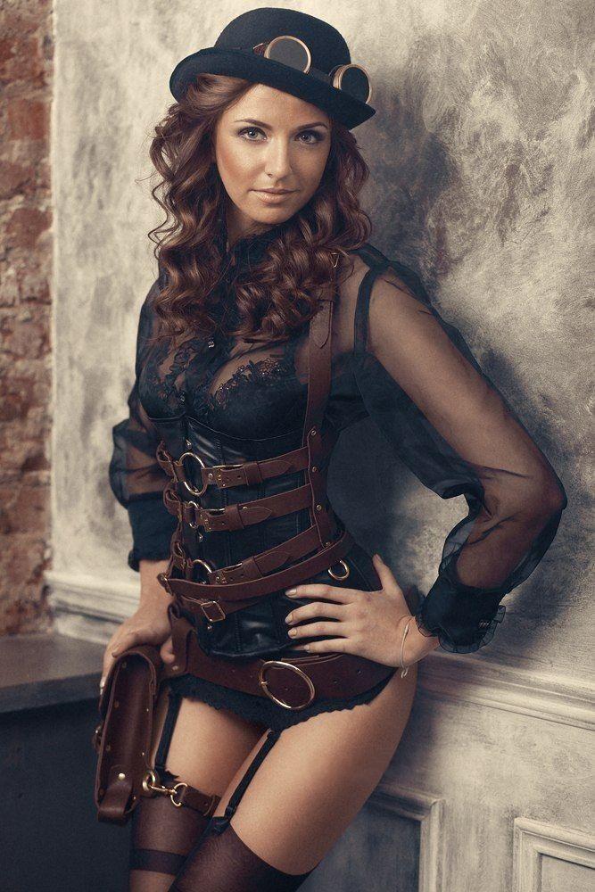 Steampunk girl #steampunk #babes #steampunkgirls