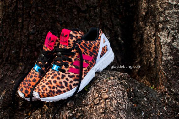 Adidas Zx Flux Cheetah Sneakernews Com Adidas Zx Flux Adidas Originals Zx Flux Adidas