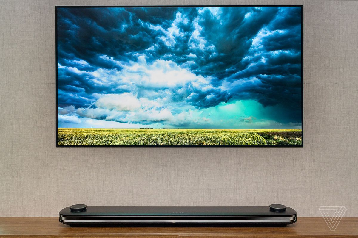 Lg S New 77 Inch Oled Wallpaper Tv Is Now Available For The Price