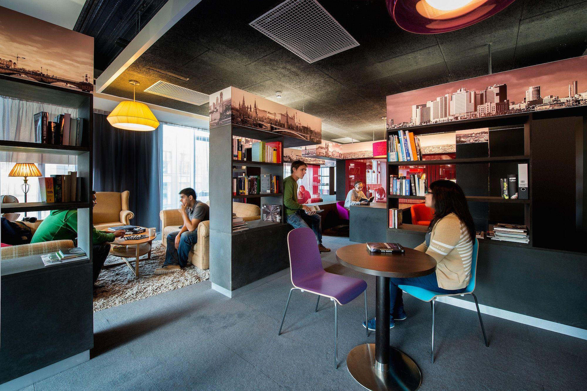 Google campus dublin gasworks library floor identity urbanscape