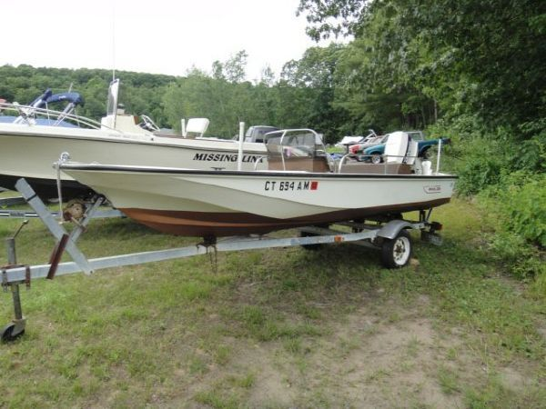 1980 boston whaler w 1986 johnson 70hp motor, new prop, carb kits Boston Whaler 27