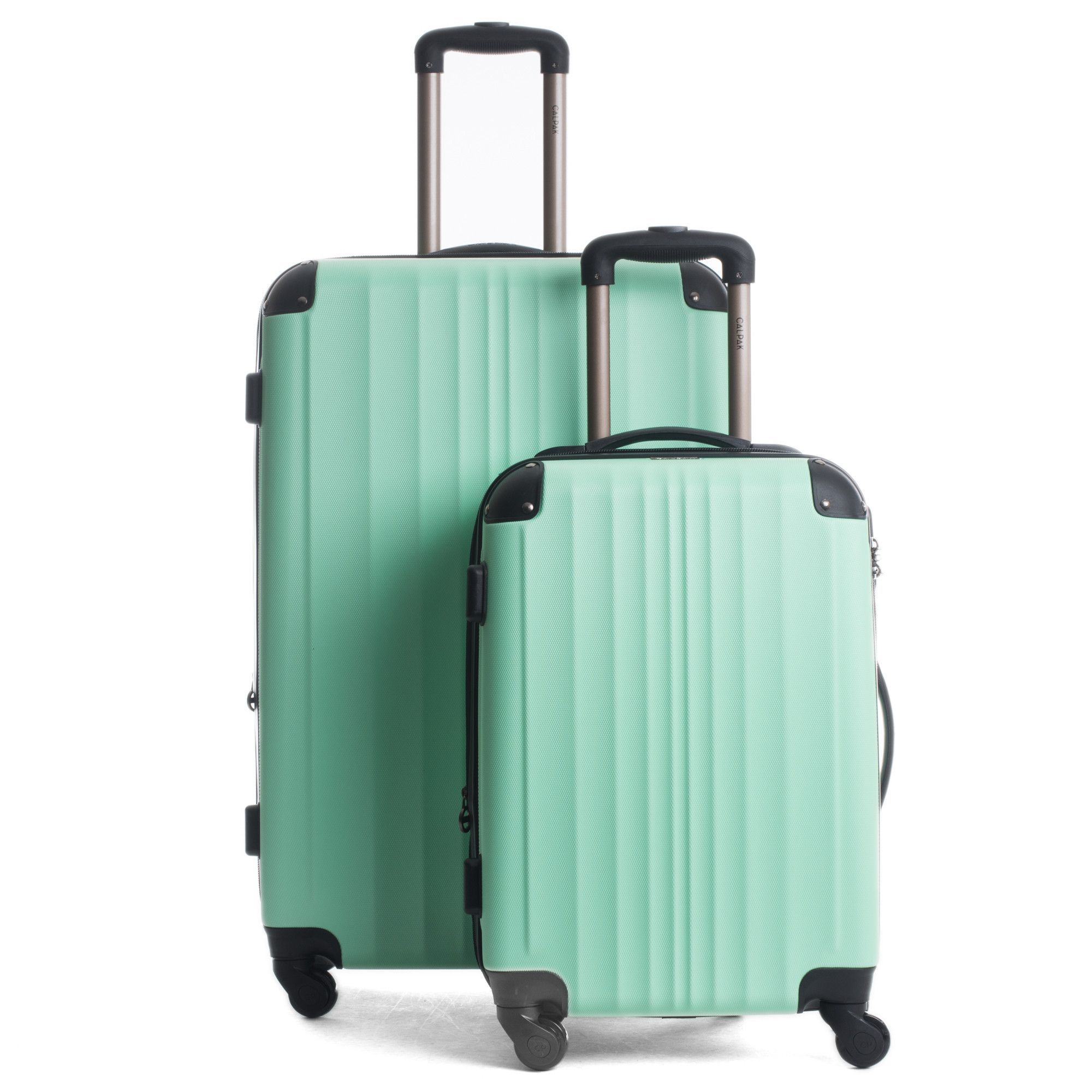 The CalPak Lukas II 2-Piece Luggage Set is constructed from ...