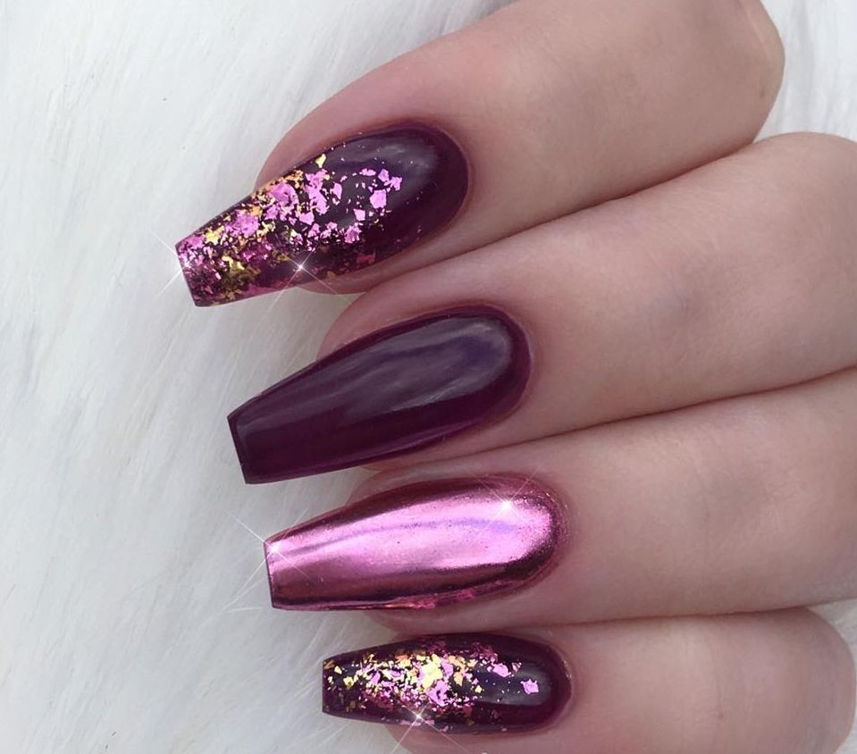 100+ Nails Art Ideas // Chrome Nails // Fashion And Beauty Ideas ...