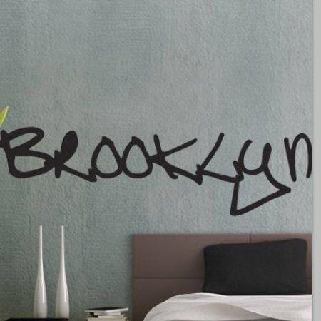 Amazoncom Vinyl Wall Decal Sticker UBer Decals Brooklyn Graffiti - Custom vinyl decals brooklyn