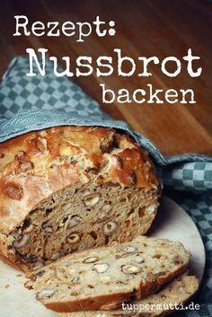 Nussbrot Backen- Einzigartig Und Unglaublich Lecker!