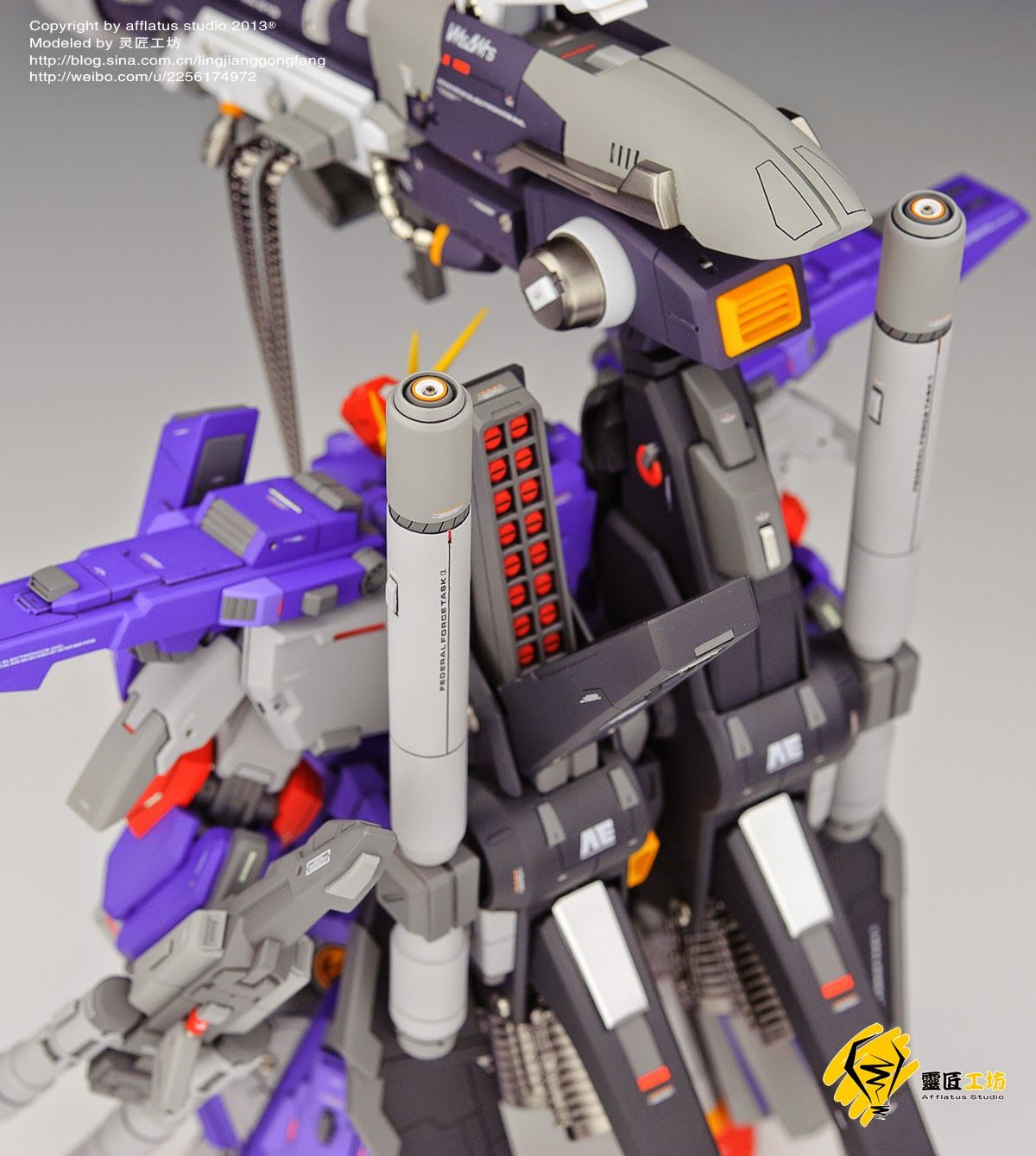 GS 1/72 FA ZZ Full Armor ZZ Gundam Painted Build 건담