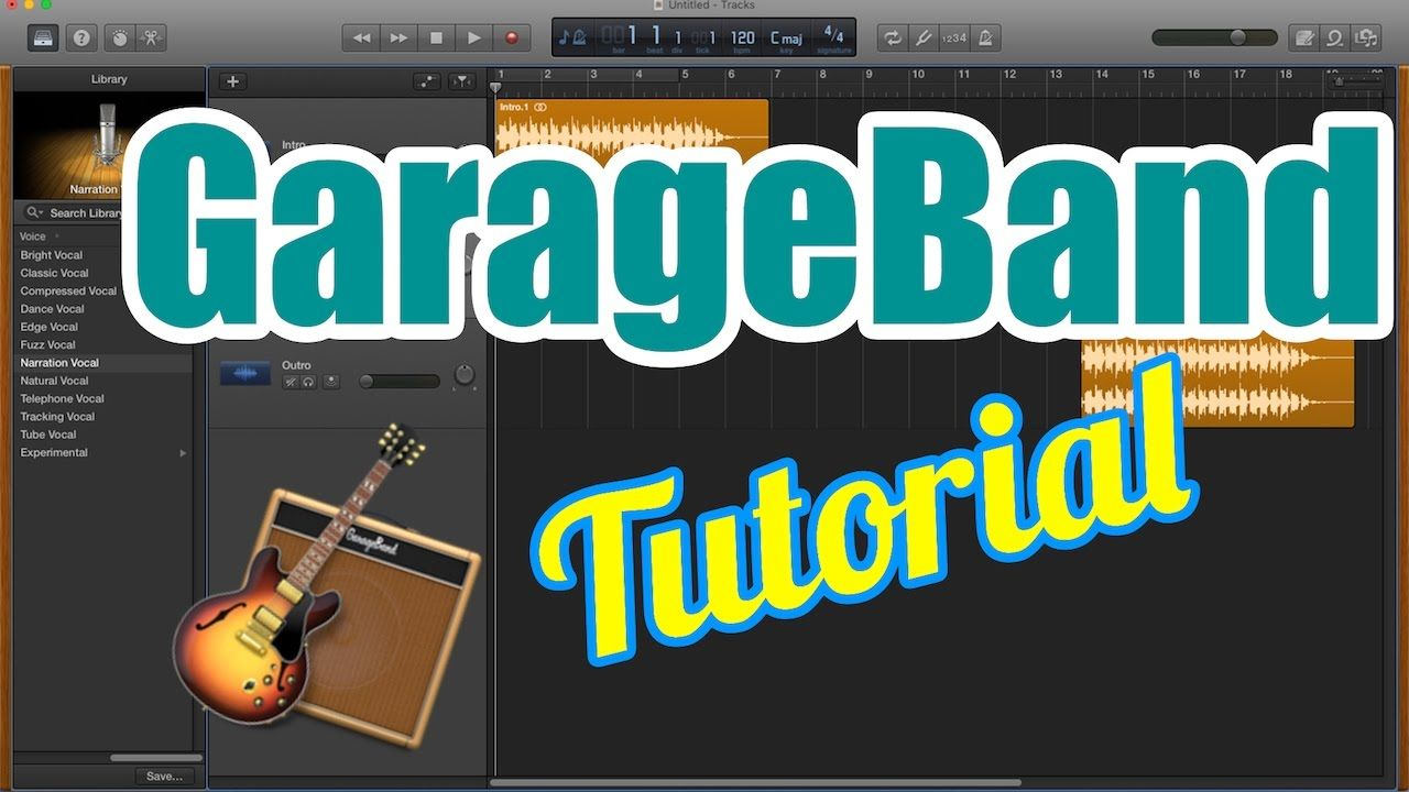 Garageband tutorial for beginners record audio vocals edit and garageband tutorial for beginners record audio vocals edit and expor baditri Images