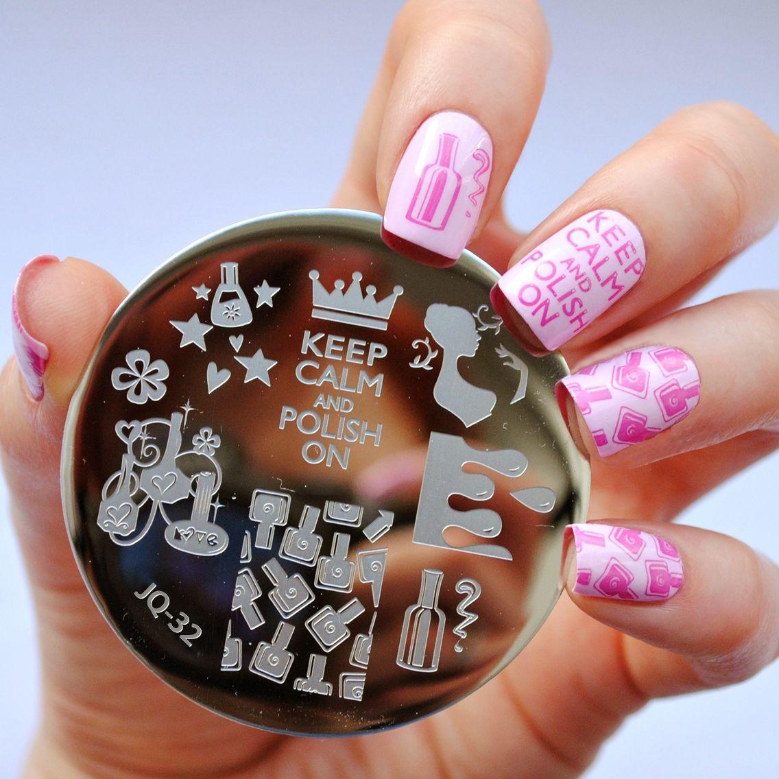 Pin von NailCandiShop auf NailCandi JQ Stamping Plates | Pinterest