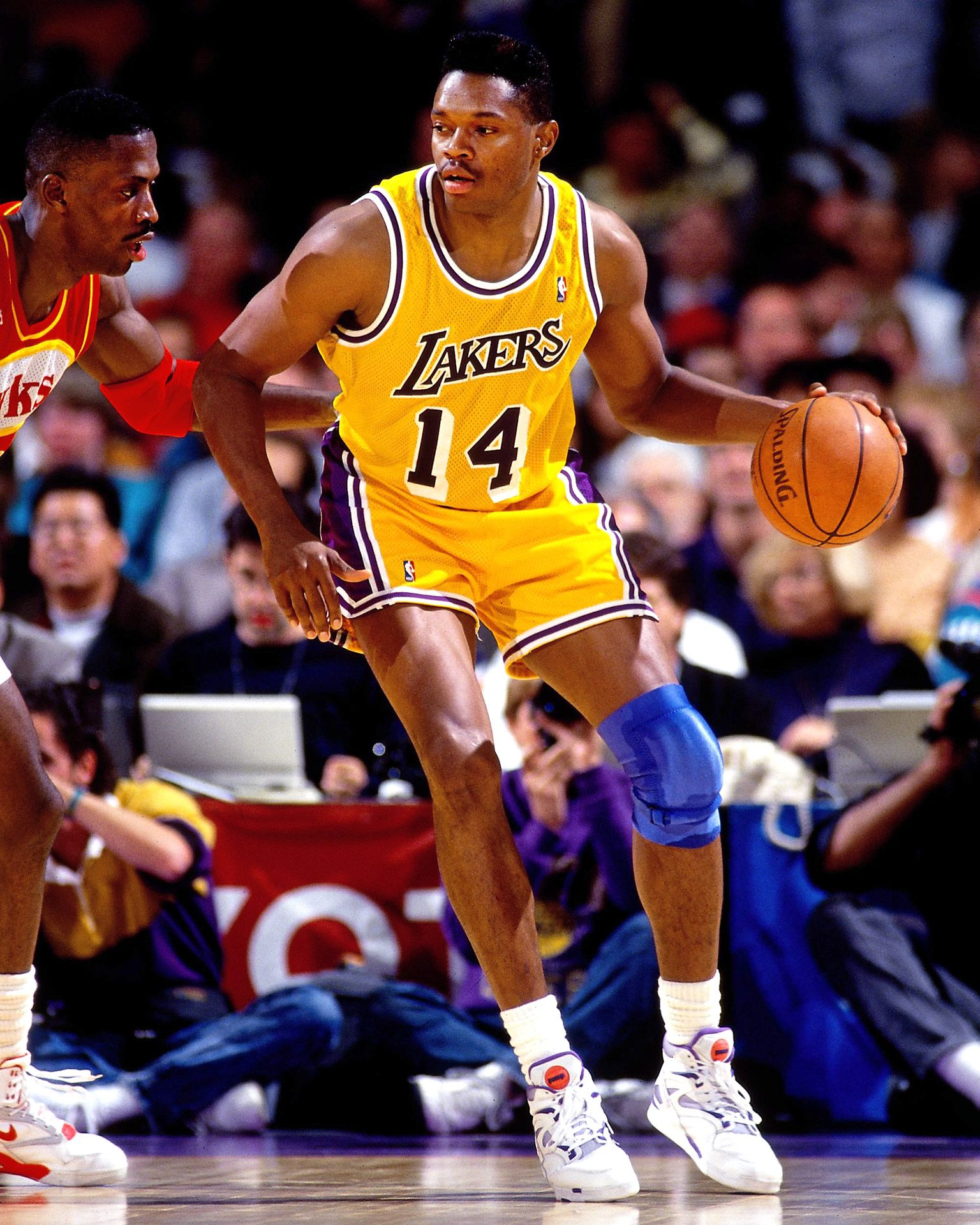 934c83d2e6f Sam Perkins, who played for the Los Angeles Lakers from 1990 to 1993 ...