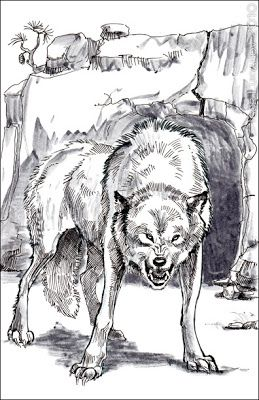 Angry Snarling Wolf Sketch Wolf Sketch Wolf Drawing Snarling Wolf