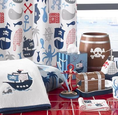 Pirate bathroom for kids collection luxury bath towels accessories · curtains for kidskids shower