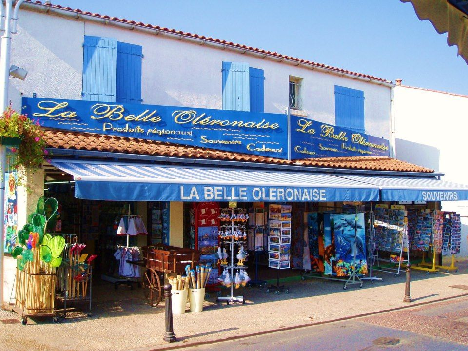 Image result for Colorful shops at Ile d'Oleron