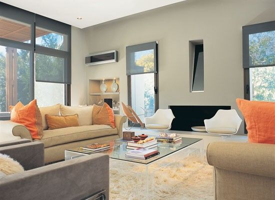 revista living decoración LIVING MODERNO  SALAS Y COMEDORES