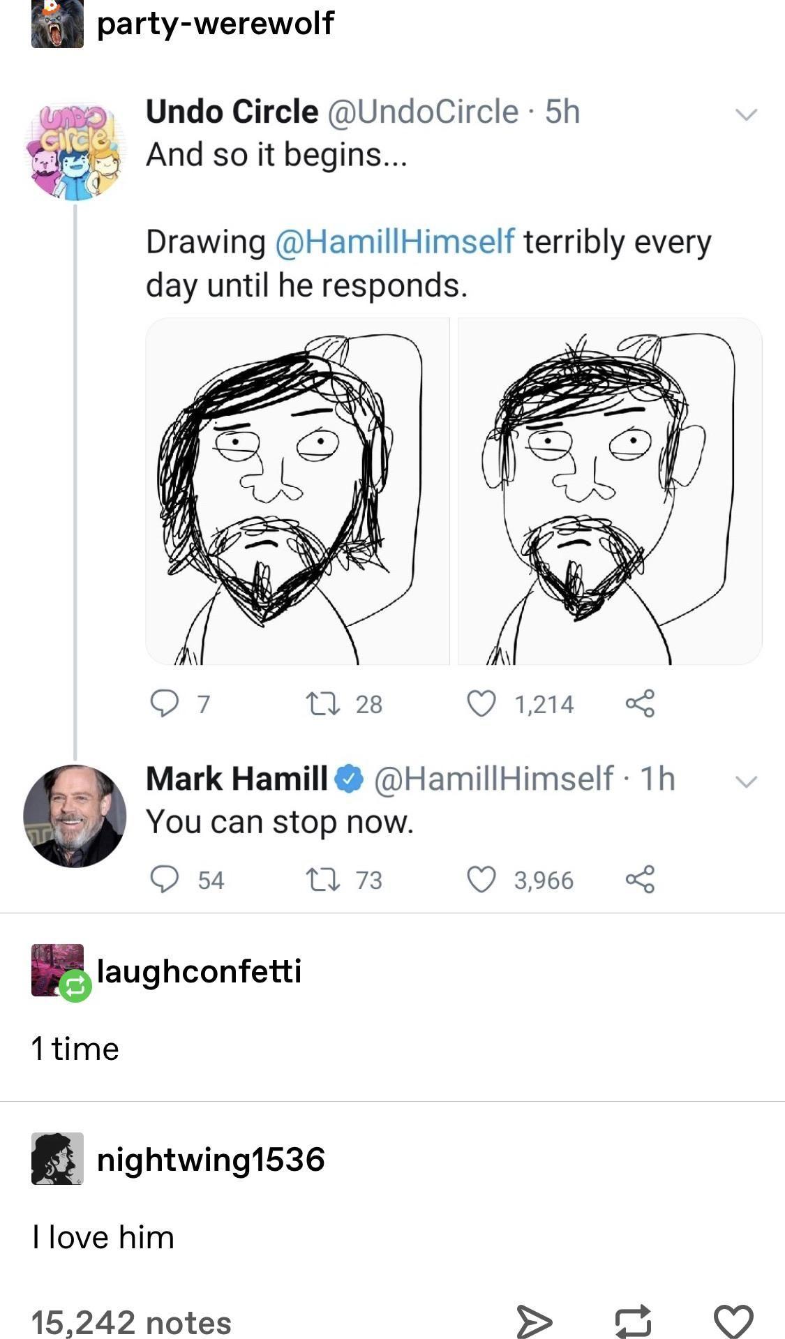 Mark Hamill appreciation post