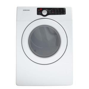 Samsung 7.3 cu. ft. Electric Dryer in White-DV361EWBEWR at The Home Depot. Manual: http://www.homedepot.com/catalog/pdfImages/e1/e164a409-c940-467f-b0fe-d1e5797388cf.pdf