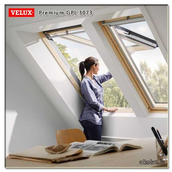 Velux Jumta Logs Premium Gpl 3073 Velux Roof Window Windows
