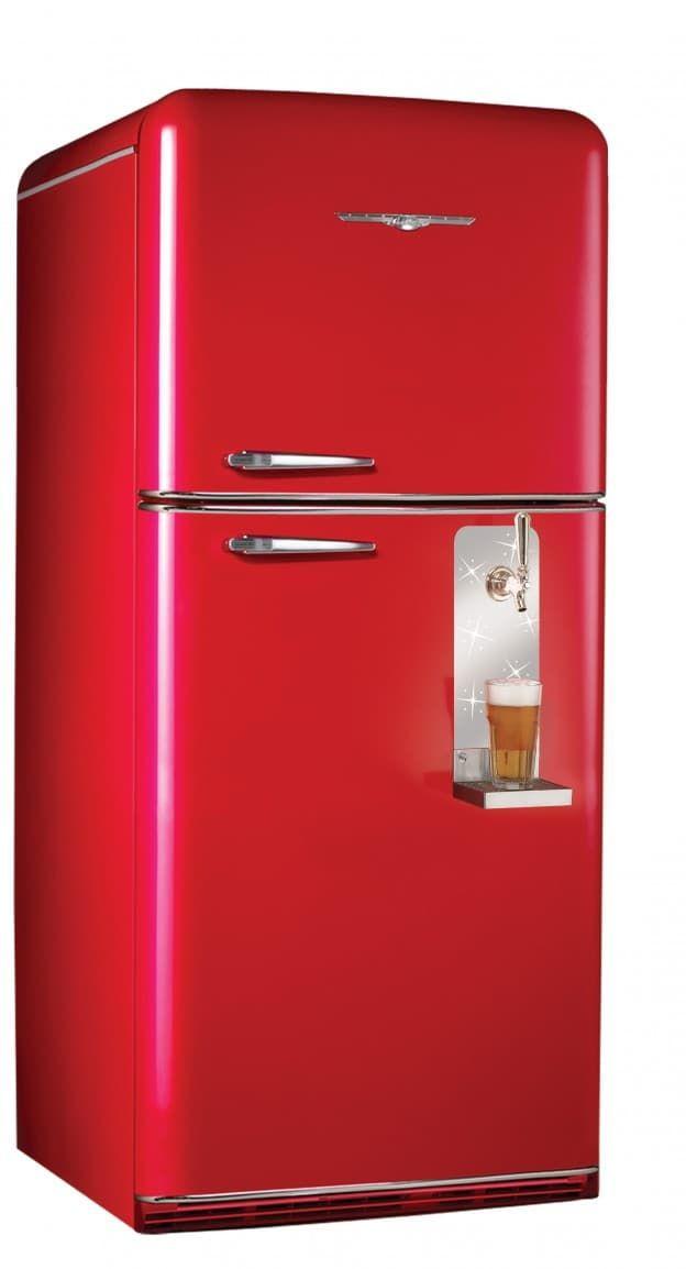 Big Chill Bright Colors 7 Refrigerators In Eye Popping Hues Retro Refrigerator Retro Fridge Vintage Appliances