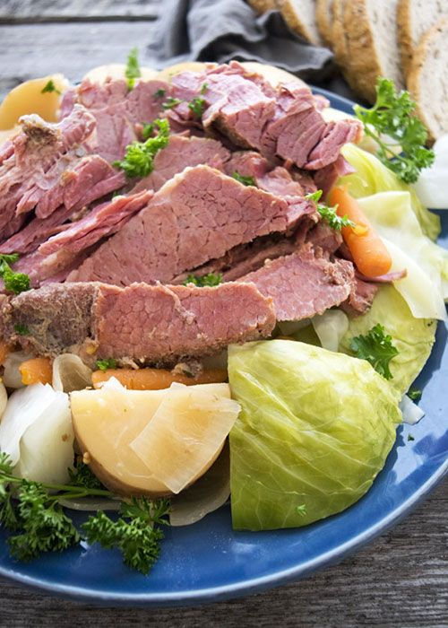 crock pot corned beef and cabbage without beer