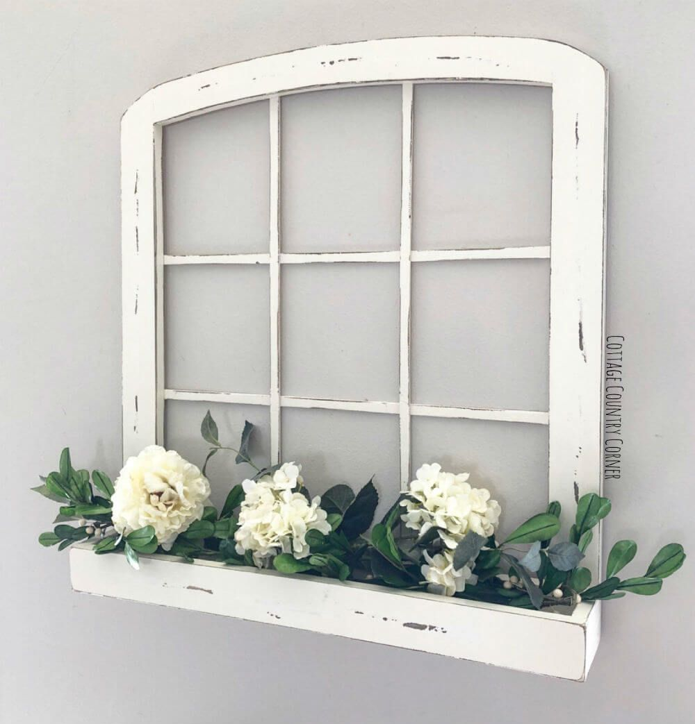 Window on wall decor   fabulous entryway decor ideas for both beauty and function