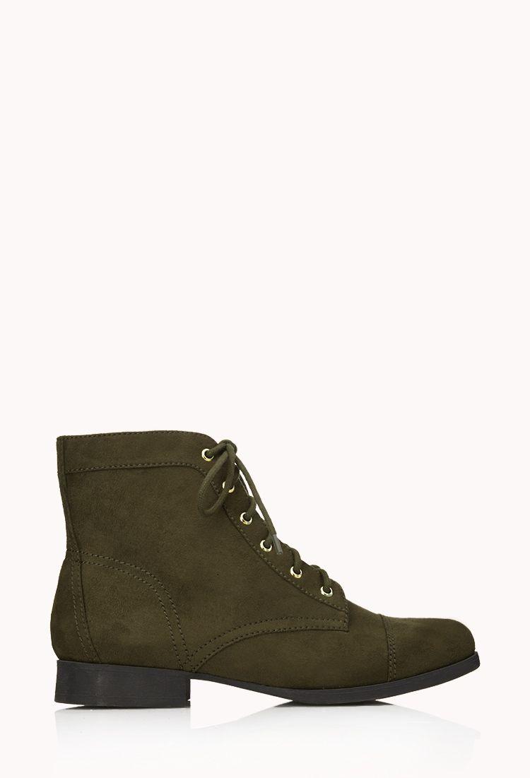 d74b04632c5 Dames schoenen en laarzen | 26.90 | Forever 21 Military Inspired Fashion,  Military Fashion,