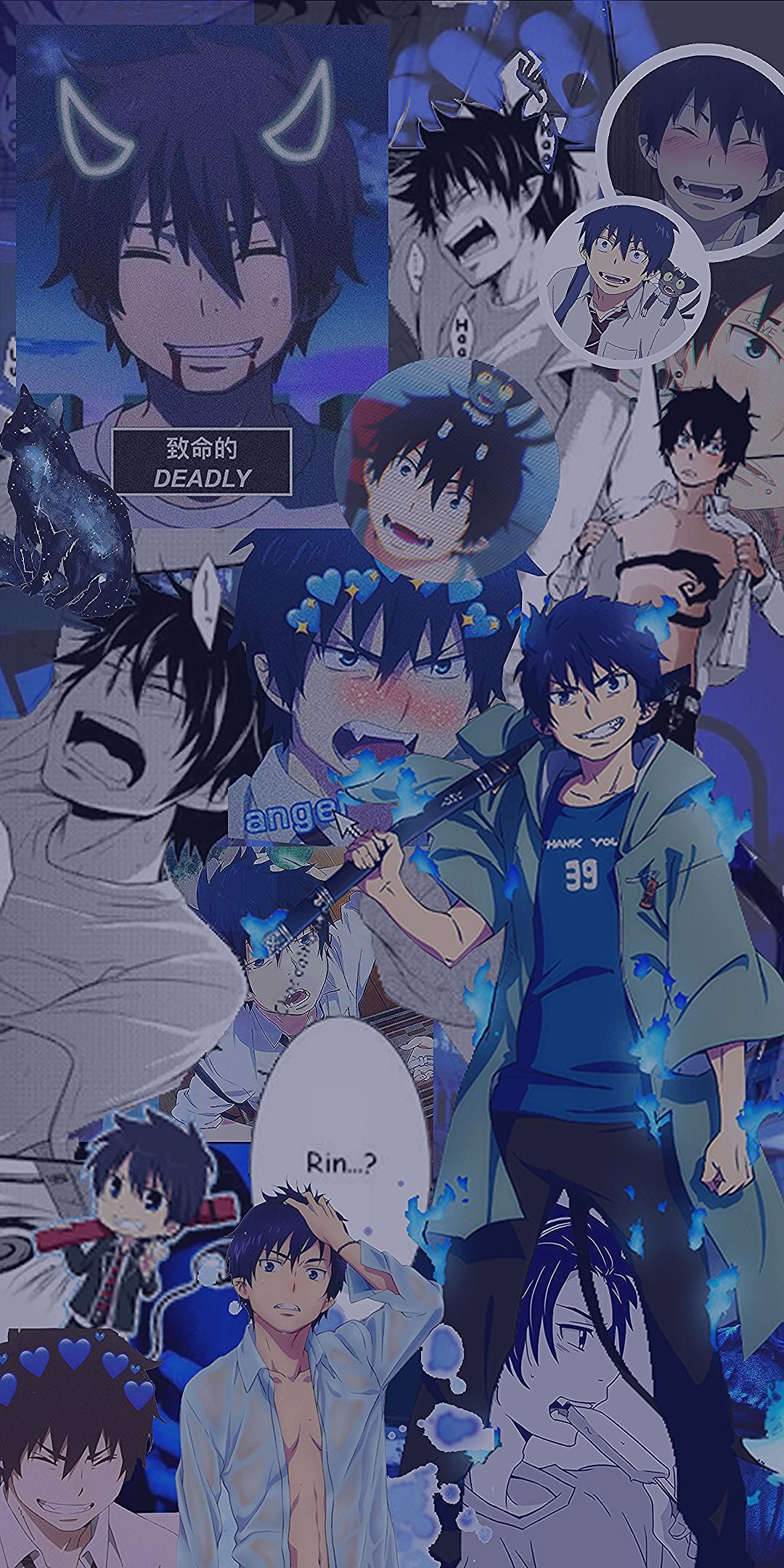 Anime Edits Hintergrundbilder In 2020 Kawaii Anime Blue Exorcist Anime Aesthetic Anime