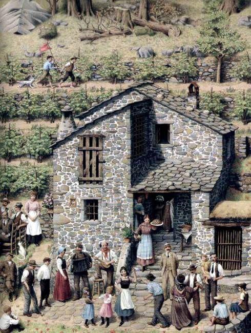 La casa. Roberto Innocenti y Patrick Lewis   Biblioabrazo