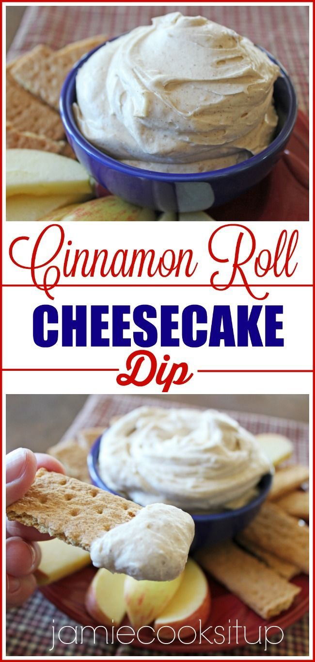 Roll Cheesecake Dip Cinnamon Roll Cheesecake Dip from Jamie Cooks It Up!Cinnamon Roll Cheesecake Dip from Jamie Cooks It Up!