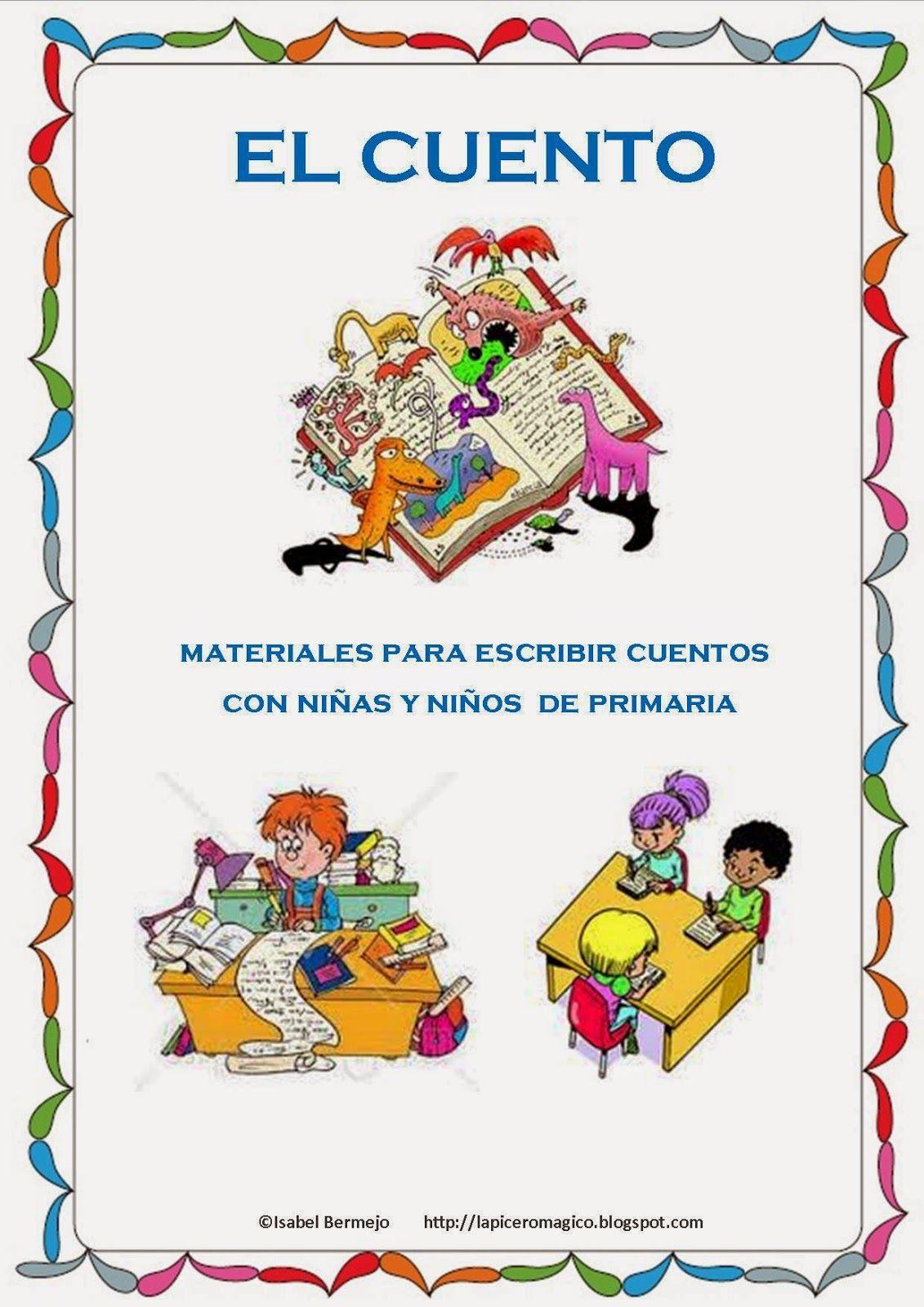 Materiales para que los niños y niñas de Primaria escriban sus ...