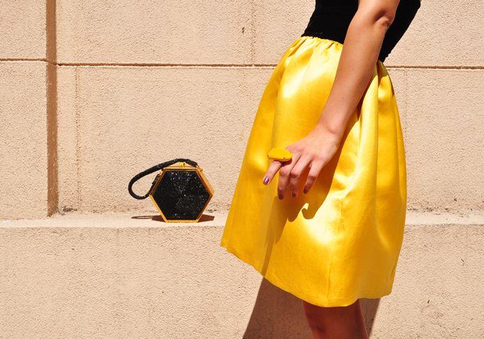 .Amarelo combina com tudo!
