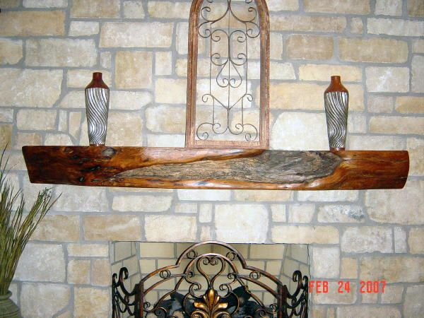 Lankford S Texas Mesquite Fireplace Mantel Custom Fireplace