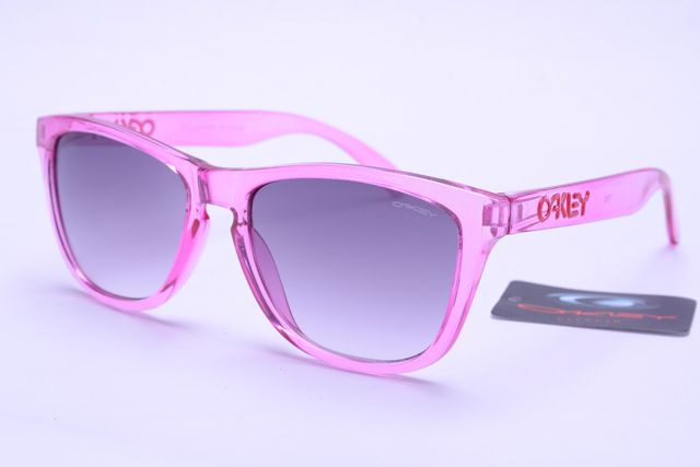 Oakley Frogskins Sunglasses Pink Frame Gray Lens B379 [OK440] - $21.88 :  Top Ray