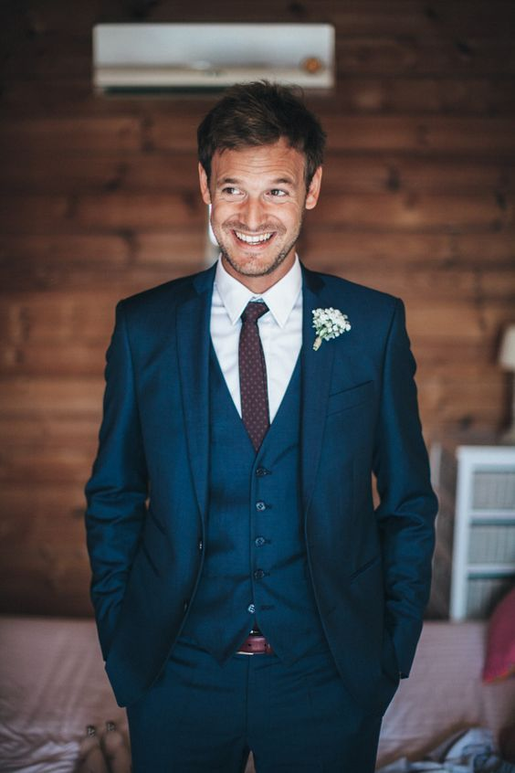 Wedding Ideas by Colour: Blue Wedding Suits | Wedding suits, Mens ...