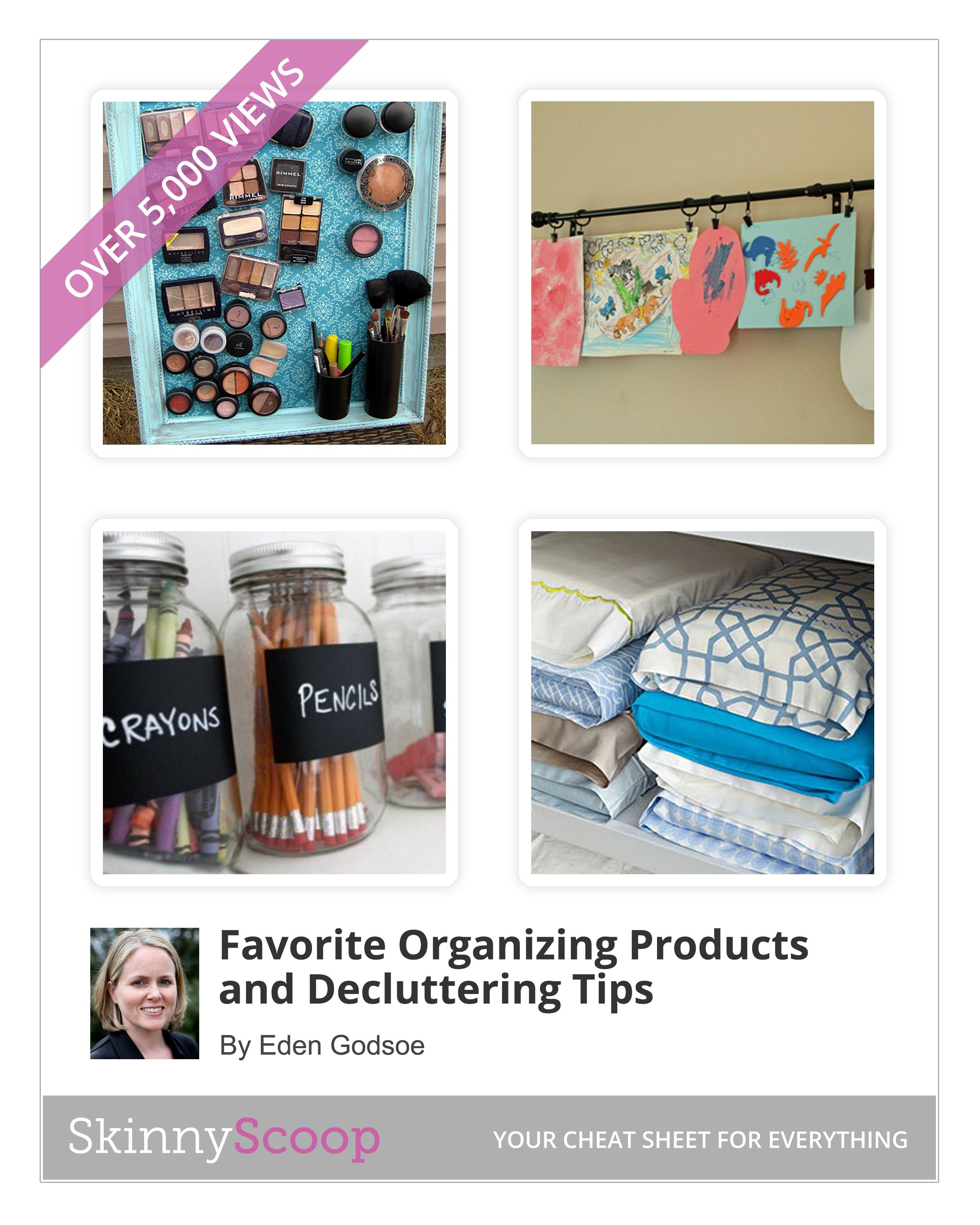 20 Organizing Products and De-Cluttering Tips | Home | Pinterest ...