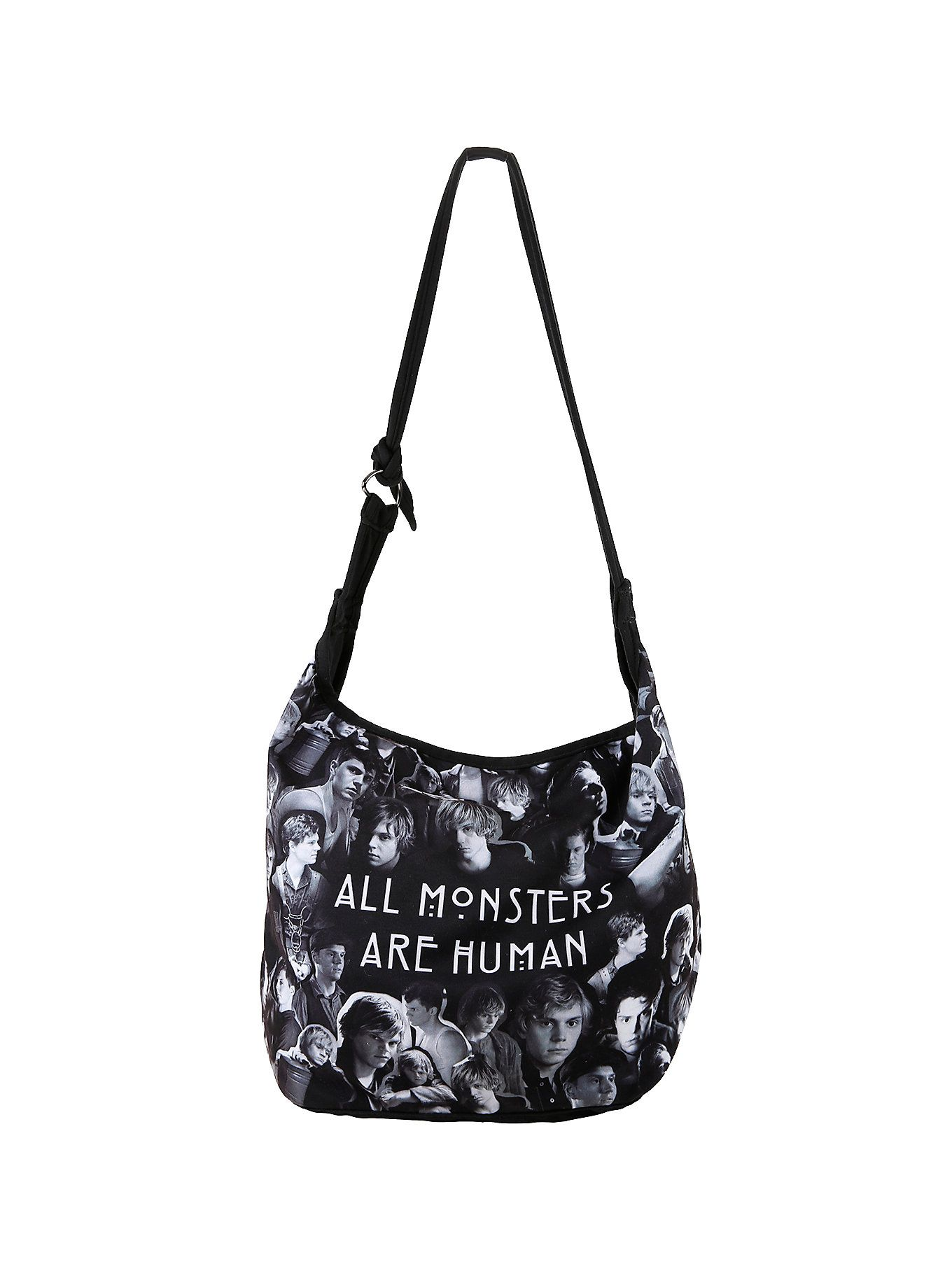 American Horror Story All Monsters Are Human Hobo Bag Hot Topic