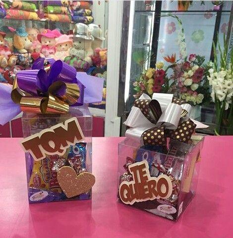 Cajita Con Dulces Gifts Gift Wrapping Ideas Para