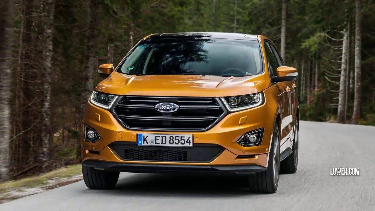 2017 All New Ford Edge Eu Intelligent Wheel Drive