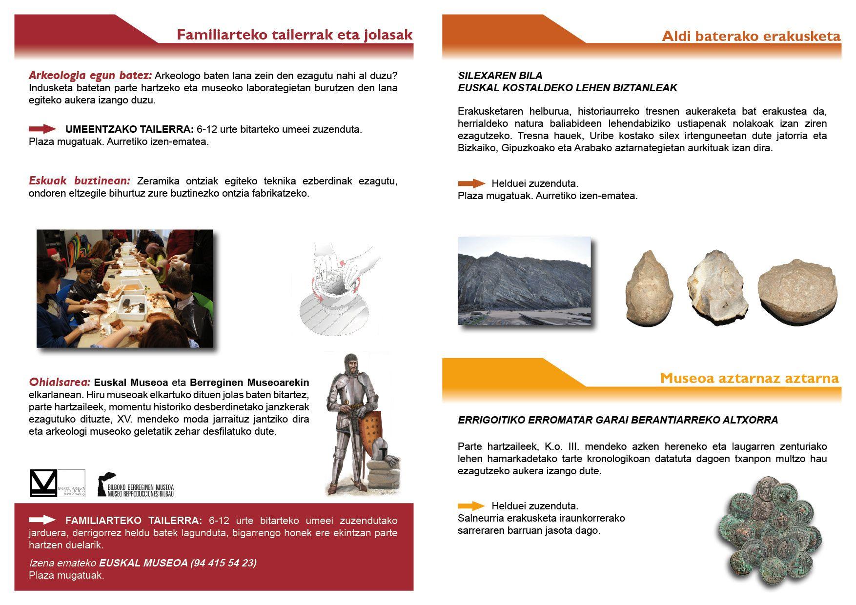 Bizkaiko Arkeologi Museoa_Aste Santua 2014/2