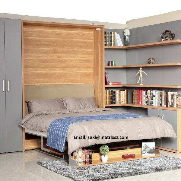 Source Newest Design China Hidden Wall Bed Supplier Modern Bedroom Furniture Wall Bed Murphy Bed On M Alibab Hidden Wall Bed Wall Bed Modern Bedroom Furniture