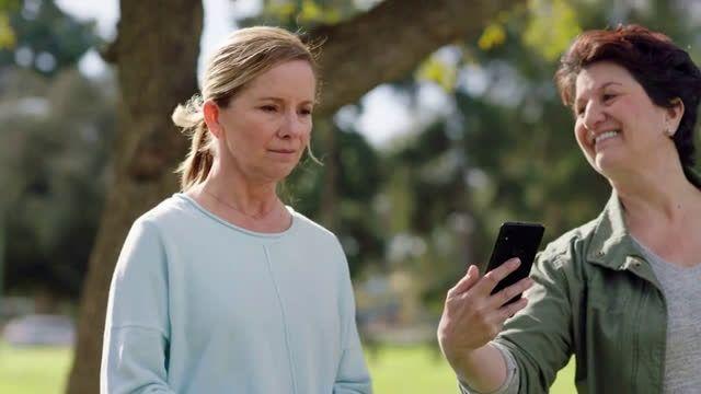 VIDEO Consumer Cellular Dog Park Talk Text Data 20 a Month