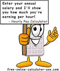 Annual Salary To Hourly Wage Calculator  Inspiration  Sports